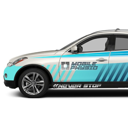 (Guaranteed Blind Contest) Design for Mobile Physio's Fleet Vehicle (Wrap)