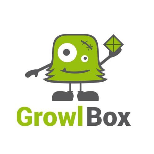 Illustration concept for Growl Box