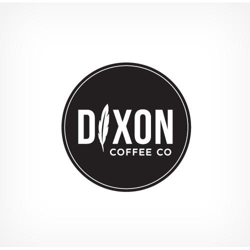 Local Drive up Coffee Shop Logo