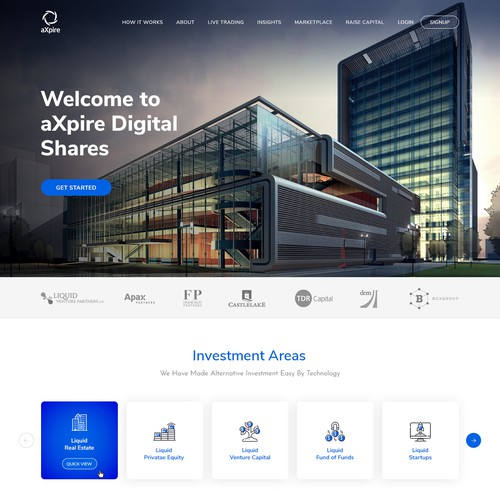 Website Design for aXpire