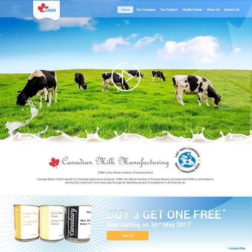 Canadian milk manfucaturing