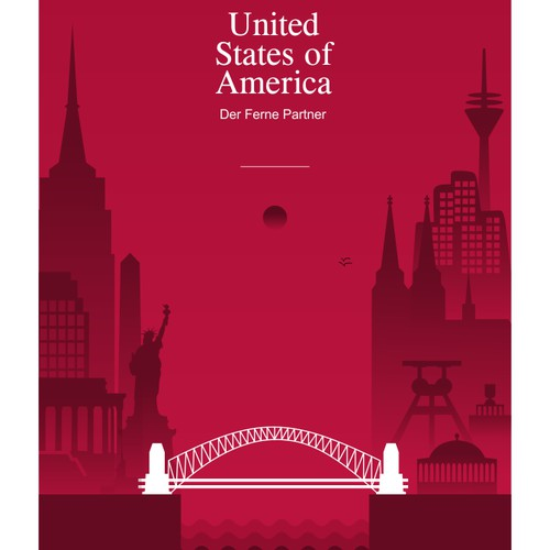 Create a great magazine-cover to celebrate the German-American friendship