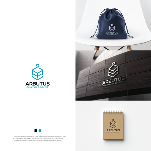 Logo Identity for Arbutus Furniture & Closets