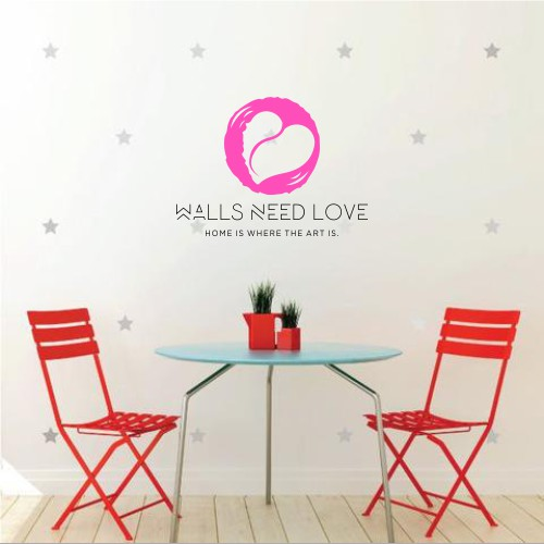 WallsNeedLove.com needs a sexy, stylish, boutique rebranding.