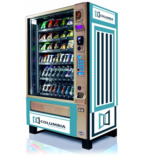 Create an innovative art for a vending machine