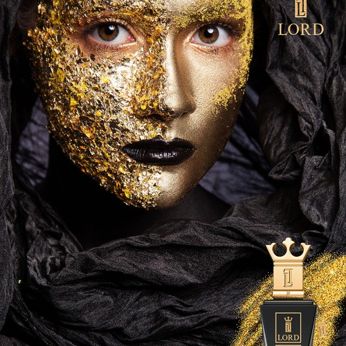 """Poster ad for """"Lord"""" perfume"""
