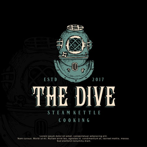 Logo Design for The Dive SKC