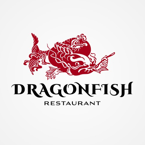 Logo for asian restaurant