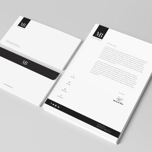 Letter Head design for major CEO