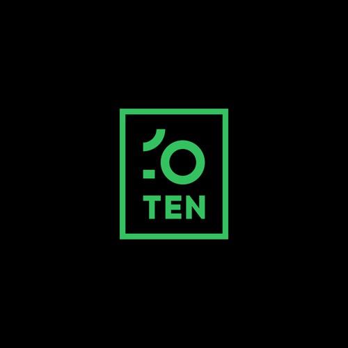 ten logo concept