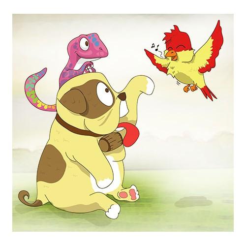 Animal Illustrations for Kids Book!
