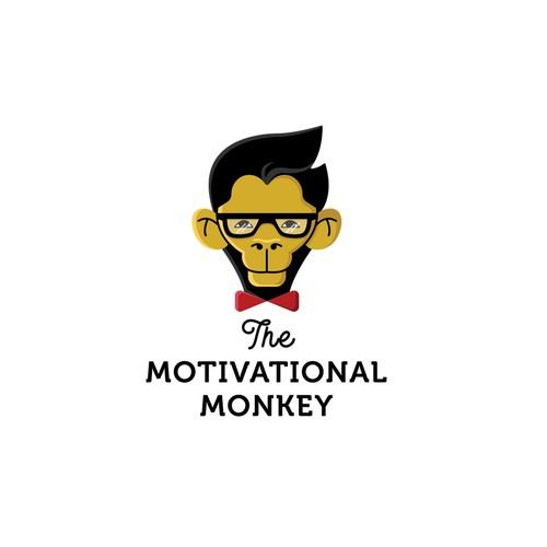 Logo concept for The Motivational Monkey