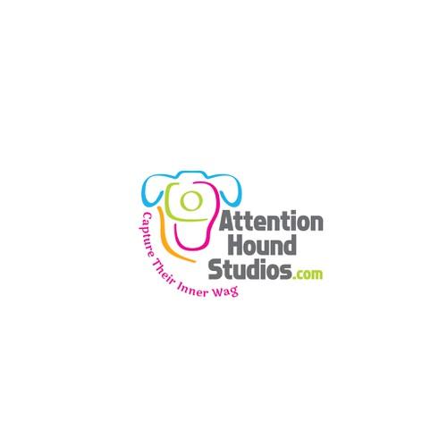 Fun Modern Logo for Pet Photography