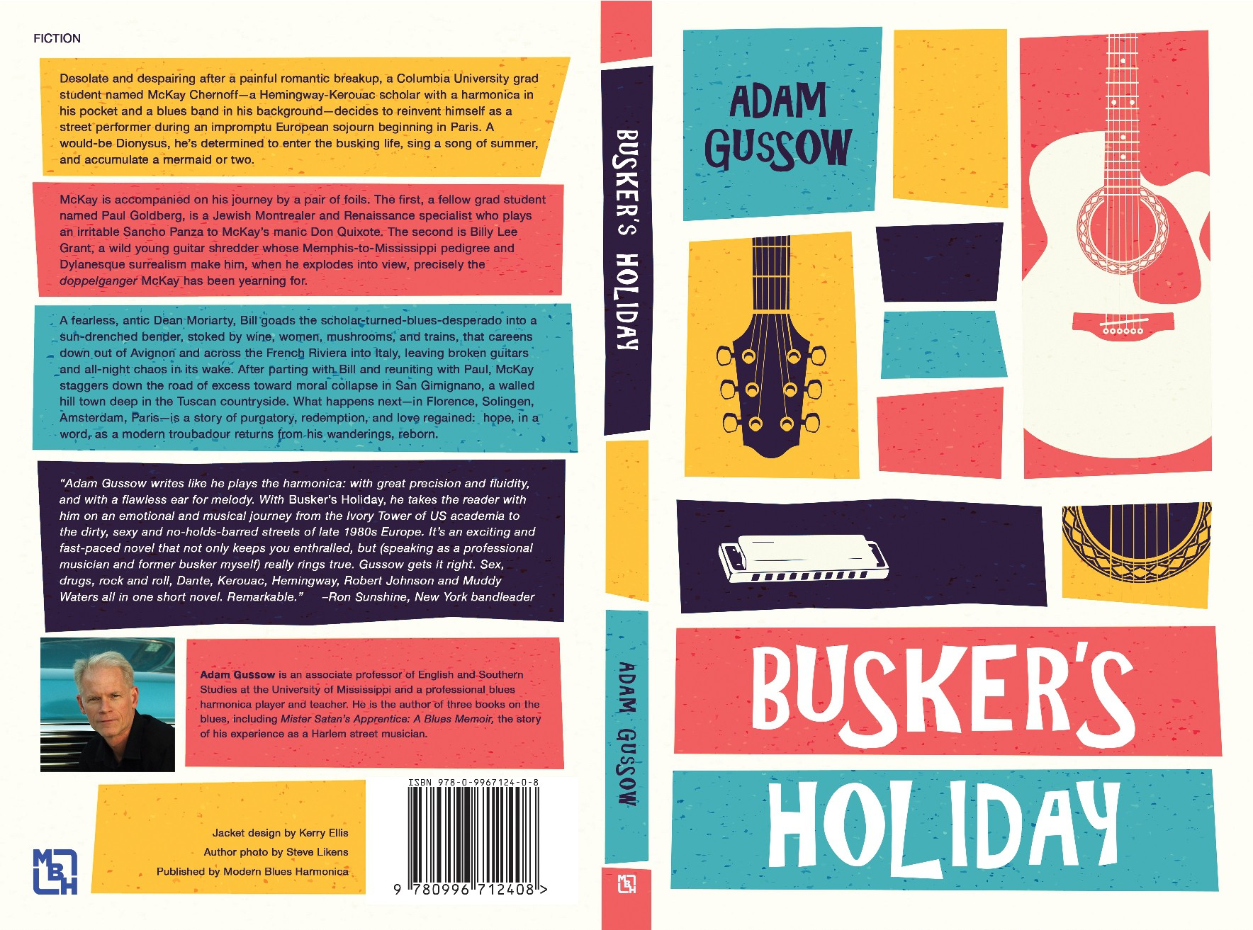 finishing up Busker's Holiday cover