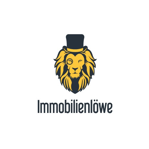 Vintage Style Lion Logo