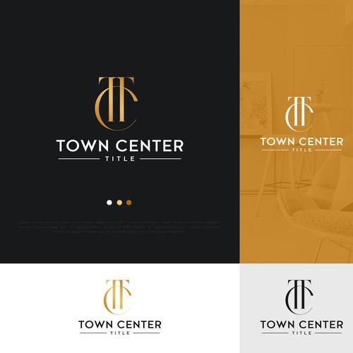 Town Center Title Logo