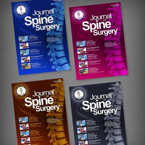 Journal Cover Design for 4 Seasons
