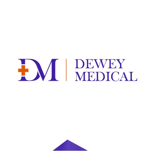 Creative logo for Dewey Medical
