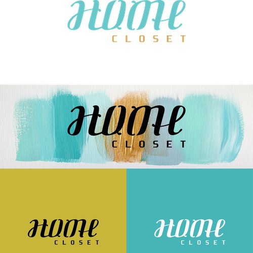 ambigram logo for home closet