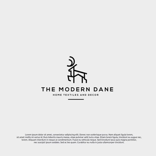 Logo concept for modern dane