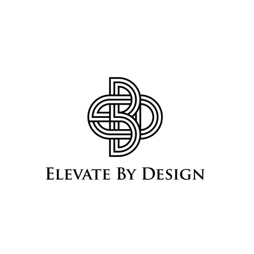 Luxurious concept for EBD logo