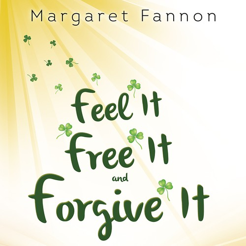 Book cover with a shamrock theme