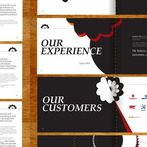 TEIQ brochure design