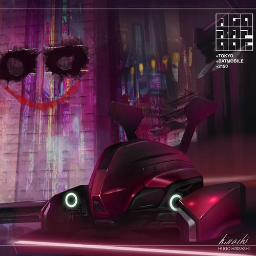 Illustration Batmobile