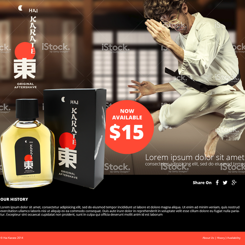 Hai Karate - Men's Aftershave