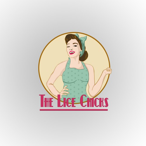 logo for the lice Chicks