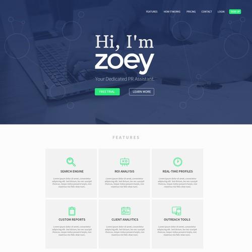 PR Landing Page