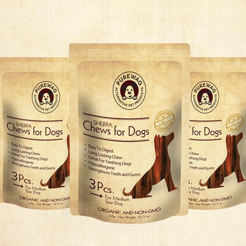 Pouch Bag packaging design