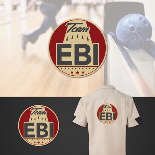 Logo concept for bowling team.