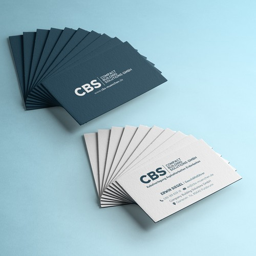 Business Card for Company Building Solutions GmbH