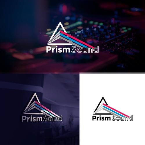 Modernize Prism Sound logo evolution