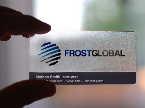 Frost Global needs a new logo