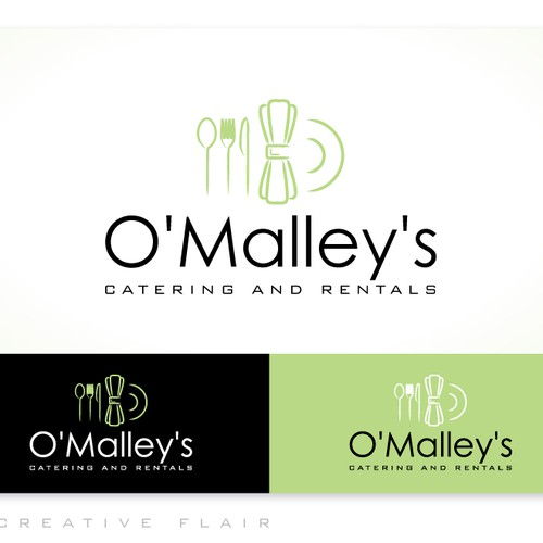 Help O'Malley's Catering and Rental with a new logo