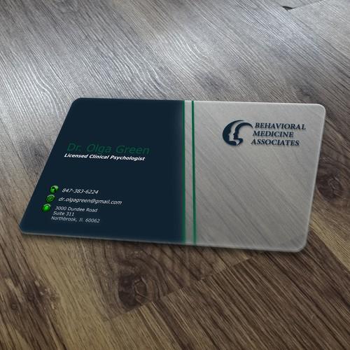 Create business card for Behavioral Medicine Associates