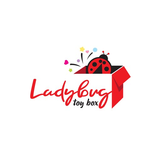 Ladybug Toy Box