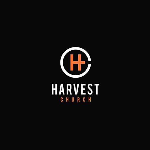 Logo concept for HARVEST CHURCH