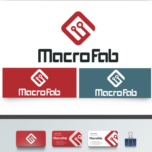 Help MacroFab with a new logo