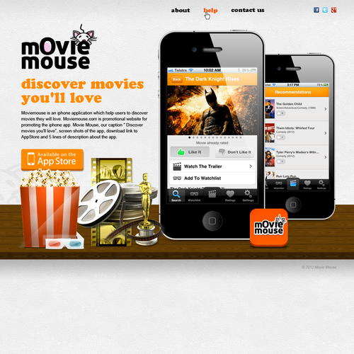Movie Mouse needs a new website design