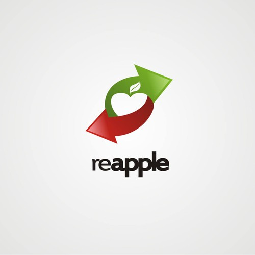 recycling logo for reapple