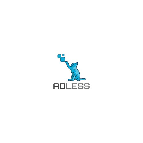 Logo for an internet company