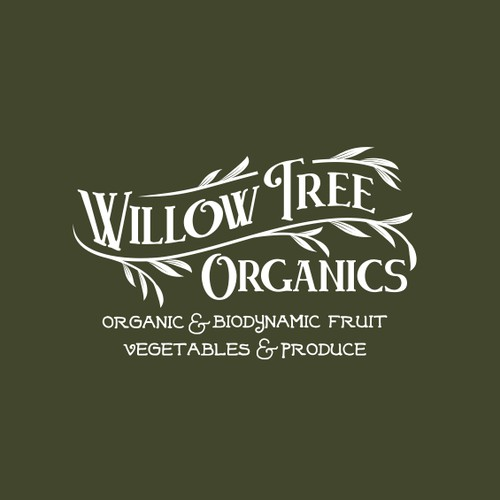 Vintage logo for Organic Store