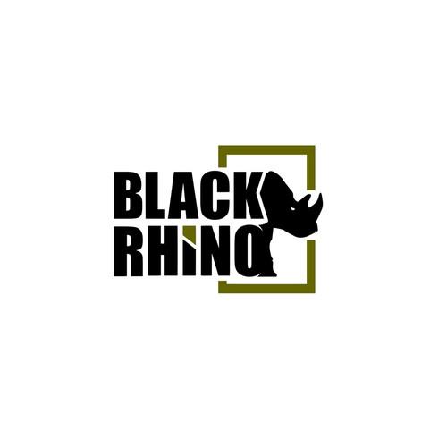 Adventure Logo Concept for BLACK RHINO