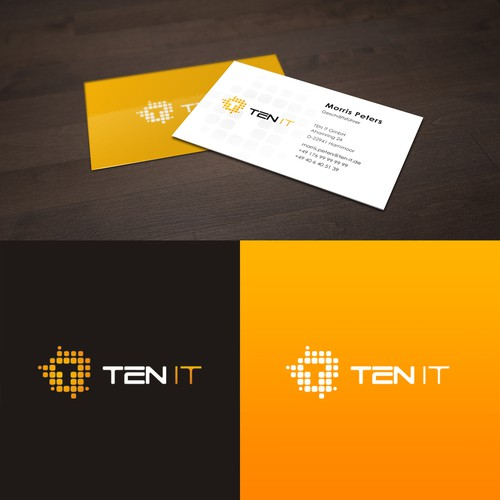 Logo design for TEN IT Germany IT provider company