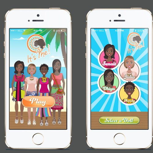 App design for It's Me