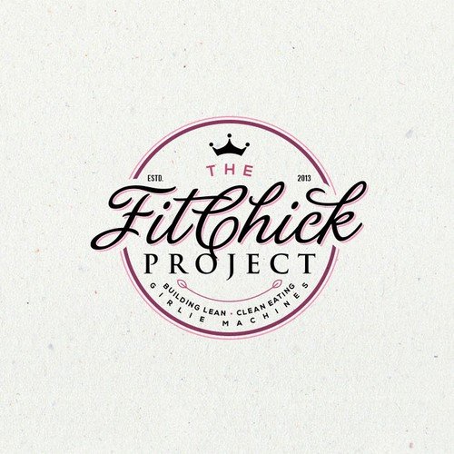 Logo for The FitChick Project