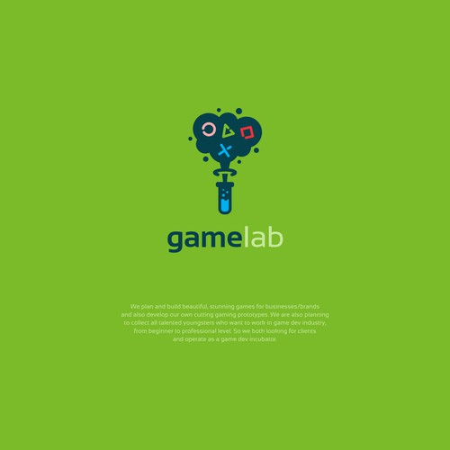 Attractive logo design for Gamelab
